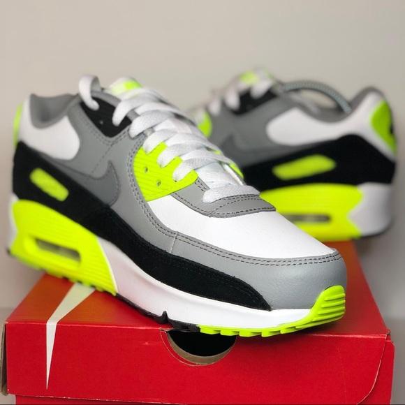 Nike Air Max 90 LTR Neon Volt GS